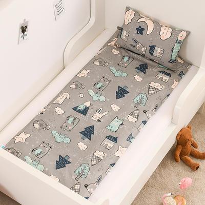 2020新款全棉13372全棉床垫套 幼儿园床垫套 60*120cm 海底世界