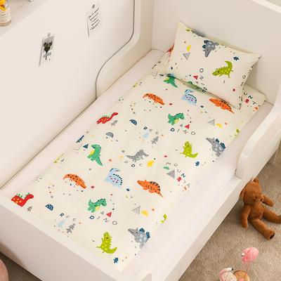 2020新款全棉13372全棉床垫套 幼儿园床垫套 60*120cm 小恐龙