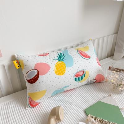 2020新款全棉儿童枕芯30X50厘米 水果派对
