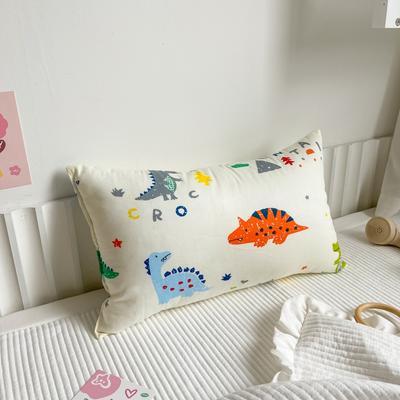 2020新款全棉儿童枕芯30X50厘米 小恐龙