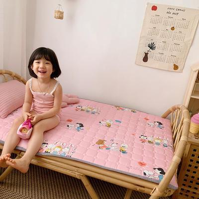2020新款13372面料 全棉儿童床护垫 60x120cm 一家人