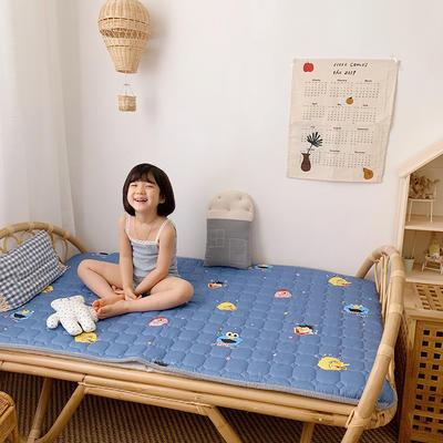 2020新款13372面料 全棉儿童床护垫 60x120cm 芝麻jie 兰