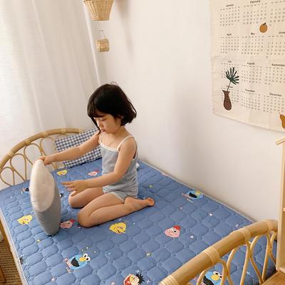 2020新款13372面料 全棉儿童床护垫加大尺寸 70x150cm 芝麻jie 兰