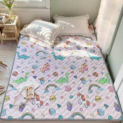 2020年新款全棉床垫(床护垫) 1.0x2米 萌龙记
