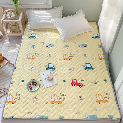 2020年新款全棉床垫(床护垫) 1.0x2米 汽车小分队