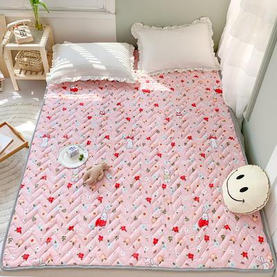 2020年新款全棉床垫(床护垫) 1.0x2米 碎花小兔