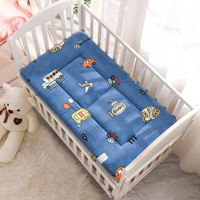 2020新款牛奶绒床垫 幼儿园床垫 儿童床垫 冬夏两用-系列一 60x120厘米 总动员