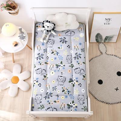 2020新款牛奶绒床垫 幼儿园床垫 儿童床垫 冬夏两用-系列二 60x120厘米 花小猫