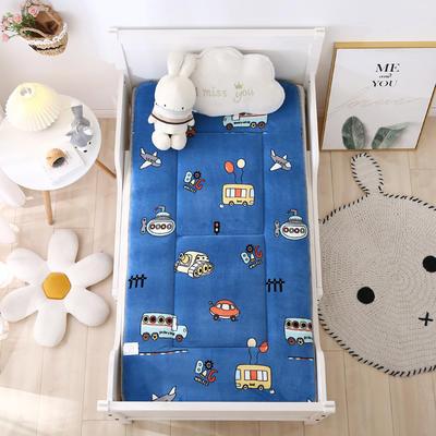 2020新款牛奶绒床垫 幼儿园床垫 儿童床垫 冬夏两用-系列二 60x120厘米 总动员