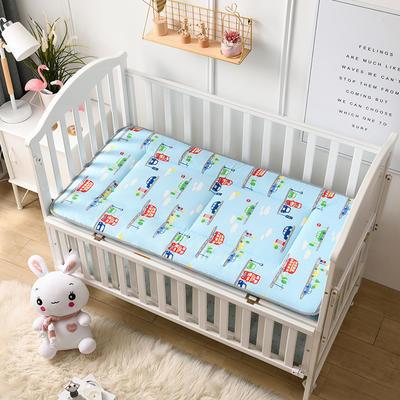 2021年新款宝宝床单床褥游戏毯午睡垫子全棉儿童床垫 60*120cm 小汽车