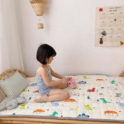 2021新款全棉儿童床垫1.5厚度 60*120厘米 恐龙