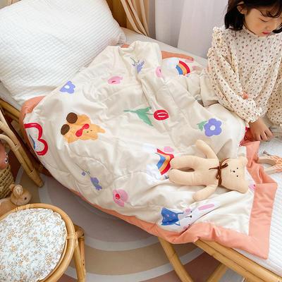 2021新款-水洗棉儿童夏被 幼儿园夏被 单人夏被 150x200cm 可妮宝贝
