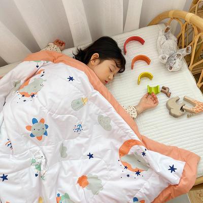 2021新款-水洗棉儿童夏被 幼儿园夏被 单人夏被 150x200cm 晚安宝贝