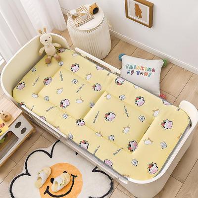 2021年新款床垫床褥 幼儿园床垫 儿童床垫 60*120cm 草莓奶牛