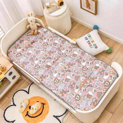 2021年新款床垫床褥 幼儿园床垫 儿童床垫 60*120cm 动物狂欢