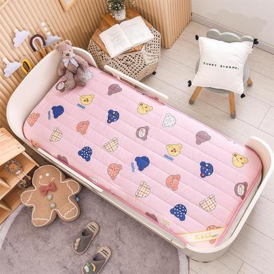 2021新款加厚款全棉床垫 加厚幼儿园床垫 儿童床垫床褥 可拆洗 60*120cm 可爱小熊-可拆款