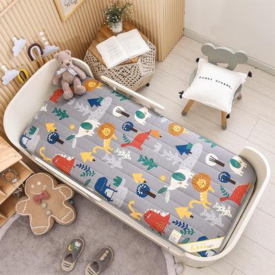 2021新款加厚款全棉床垫 加厚幼儿园床垫 儿童床垫床褥 可拆洗 60*120cm 奇幻森林-可拆款