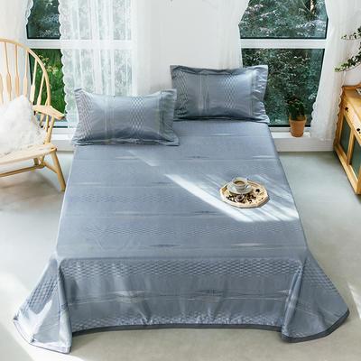 2020年新款 床單式 提花涼席 夏季可水洗干洗涼感冰絲涼席 尺寸250*250 竹林