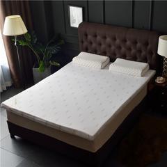 2019新品-皇家全棉乳胶床垫 --1.8米 2米- 厚度5cm 7.5cm 10cm 180*200 / 5cm 白色(AA)