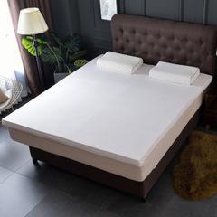 2019新品--针织乳胶床垫-1.8米 2.0米床-厚度5cm 7.5cm 10cm 180*200 /5cm 白色(AA)