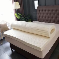 2019新品--针织乳胶床垫-1.8米 2.0米床-厚度5cm 7.5cm 10cm 180*200 /5cm 白色(普通)