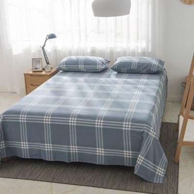 2019新品-全棉色织水洗棉床单 160*240 新元素