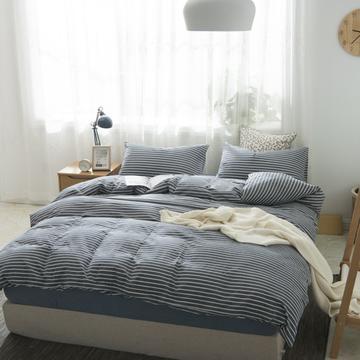 2019新品-全棉色织水洗棉被套