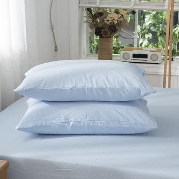 2019新品-全棉色织水洗棉枕套