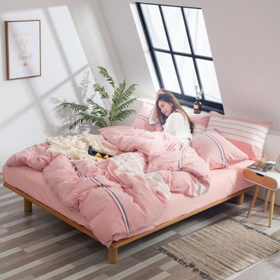 2019新品-全棉色织水洗棉被套 150*200 诗黛