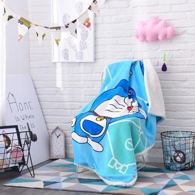 2019茗婷羊羔绒儿童毯 100*140cm 叮当猫