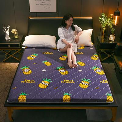 2019新品-磨毛印花床墊(厚度6公分) 1.5*2.0米 /6公分 菠蘿