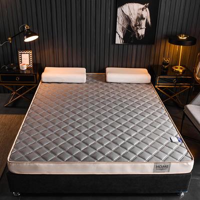 2020新款乳胶海绵床垫-成人款终板-6公分乳胶海绵床垫 0.9X2.0米 网格灰
