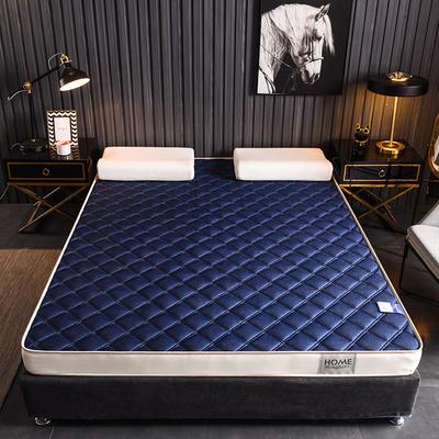 2020新款乳胶海绵床垫-成人款终板-6公分乳胶海绵床垫 0.9X2.0米 网格蓝