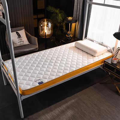 2020新款乳胶海绵床垫-学生款-终版-6公分 0.9X2.0米 网格白