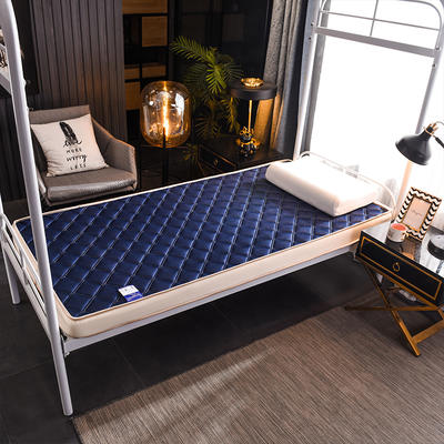 2020新款乳胶海绵床垫-学生款-终版-6公分 0.9X2.0米 网格蓝
