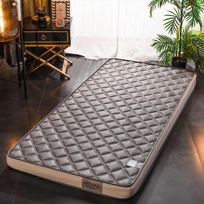 2020新款乳胶海绵床垫-学生款-终版-10公分 0.9X2.0米 网格灰