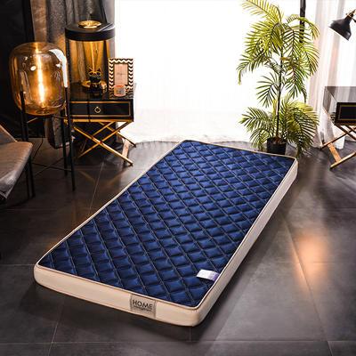 2020新款乳胶海绵床垫-学生款-终版-10公分 0.9X2.0米 网格蓝