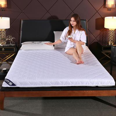 2019新款 水洗棉抗菌防水床垫 0.9*1.9m 水洗棉抗菌防水 白色