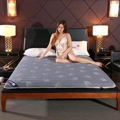 2019新款 针织棉抗菌床垫 0.9m /6厘米 抗菌灰色羽毛