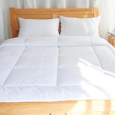2019新款立体羽丝绒被 200X230cm 8斤 白色