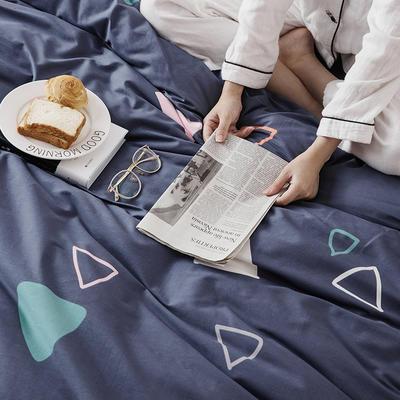 2019新款柔软舒适全棉活性四件套 1.2m床单款三件套 圣保罗