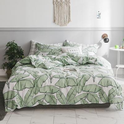 2019新款柔软舒适全棉活性四件套 1.2m床单款三件套 岁月静好