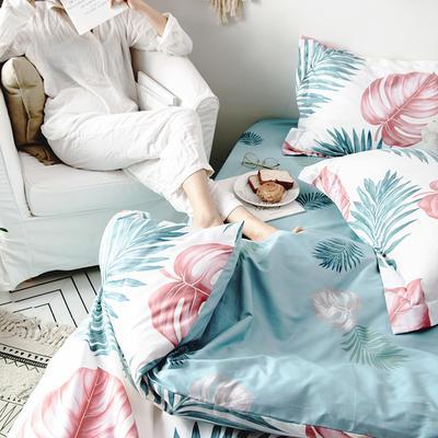 2019新款柔软舒适全棉活性四件套 1.2m床单款三件套 小美好