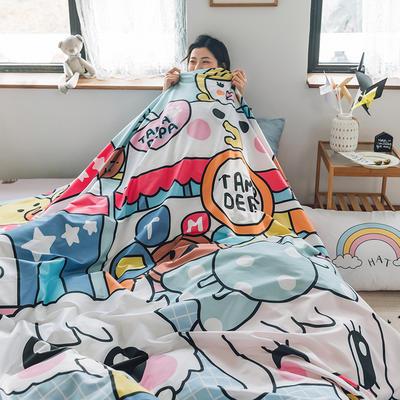 2020新款-大版卡通全棉系列四件套 床单款三件套1.2m(4英尺)床 甜心公主
