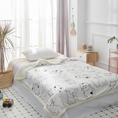 2019新款-毛毯 100*150cm 猫