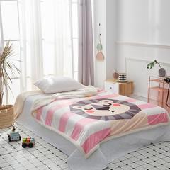 2019新款-毛毯 100*150cm 狮子