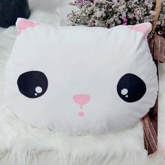 2019新款-可爱的猫咪抱枕儿童陪睡小靠枕 35*35cm/个 猫咪