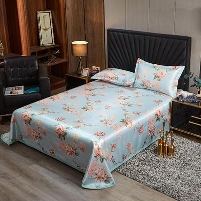 2020新款床单款冰丝席凉席 90*200cm(二件套) 蓝梦之境