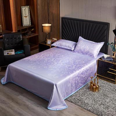 2020新款床单款冰丝席凉席 230*250cm 蔓丽-紫