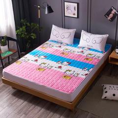 2019新款法兰绒保暖床垫 0.9*2.0m KT猫